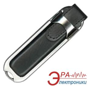 Флеш память USB 2.0 Super Talent 4 Гб Leather Black (DL-B4GBBK / DL-4GB-BK)