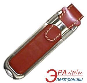 Флеш память USB 2.0 Super Talent 8 Гб Leather Brown (DL-B8GBT / DL-8GB-T Retail)