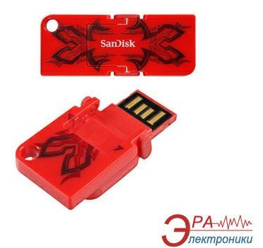 Флеш память USB 2.0 SanDisk 32 Гб Cruzer Pop Red (SDCZ53B-032G-B35)