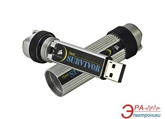 Флеш память USB 2.0 Corsair 32 Гб Flash Survivor (CMFUSBSRVR-32GB)