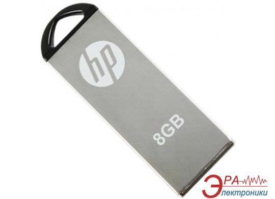 Флеш память USB 2.0 HP 8 Гб V220W Silver (FDU8GBHPV220W-EF)