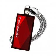 Флеш память USB 2.0 Silicon Power 64 Гб Touch 810 Red (SP064GBUF2810V1R)