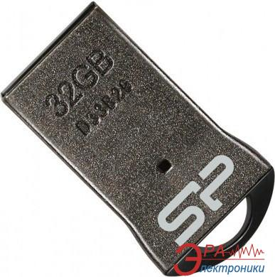 Флеш память USB 2.0 Silicon Power 32 Гб Touch T01 Black (SP032GBUF2T01V1K)