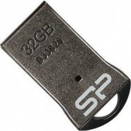 Флеш память USB 2.0 Silicon Power 32 Гб Touch T01 Black (SP032GBUF2T01V1K)