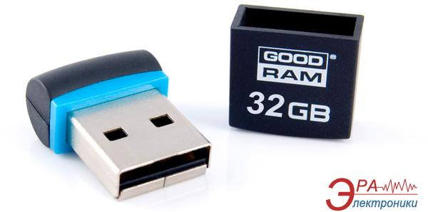 Флеш память USB 2.0 Goodram 32 Гб PICCOLO BLACK (PD32GH2GRPIKR10)