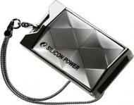 Флеш память USB 2.0 Silicon Power 64 Гб Touch 850 Titanium (SP064GBUF2850V1T)