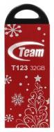 ���� ������ USB 2.0 Team 32 �� T123 Red Xmas (TT12332GR10)