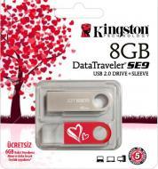 ���� ������ USB 2.0 Kingston 8 �� DataTraveler SE9 Valentine's Day (KC-U468G-2U2)