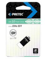 Флеш память USB 2.0 Pretec 8 Гб Elite Black (E2T08G-1BK)