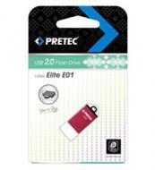 Флеш память USB 2.0 Pretec 8 Гб Elite Pink (E2T08G-1P)
