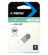 ���� ������ USB 2.0 Pretec 8 �� Elite Silver (E2T08G-1S)