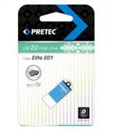 Флеш память USB 2.0 Pretec 8 Гб Elite Blue (E2T08G-1BU)