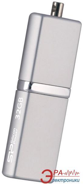 Флеш память USB 2.0 Silicon Power 32 Гб LuxMini 710 Silver (SP032GBUF2710V1S)