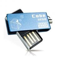 Флеш память USB 2.0 Goodram 32 Гб Cube Blue (PD32GH2GRCUBR9)
