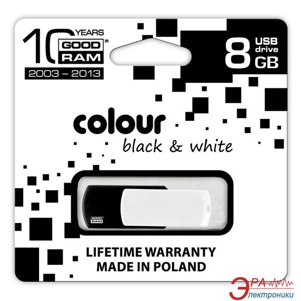 Флеш память USB 2.0 Goodram 8 Гб COLOUR Black (PD8GH2GRCOKWR9)