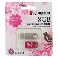 Флеш память USB 2.0 Kingston 8 Гб DataTraveler SE9 Woman's Day (KC-U468G-2U)
