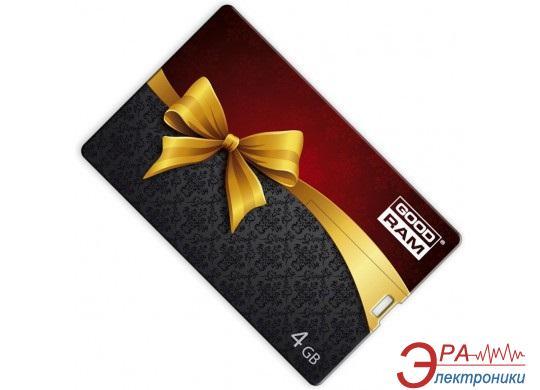 Флеш память USB 2.0 Goodram 4 Гб Credit Card PD4GH2GRCCPR9