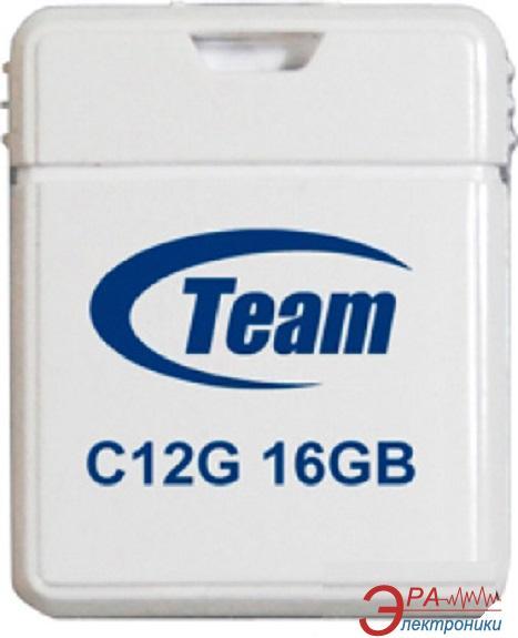 Флеш память USB 2.0 Team 16 Гб C12G White (TC12G16GW01)