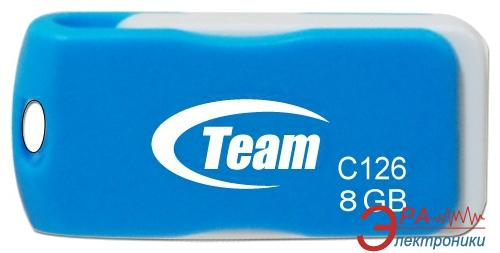 Флеш память USB 2.0 Team 8 Гб C126 Blue (TC1268GL01)