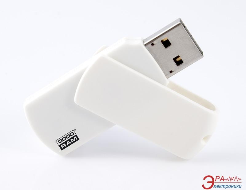 Флеш память USB 2.0 Goodram 8 Гб Colour White bulk (PD8GH2GRCOWWB)