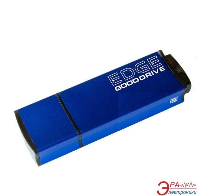 Флеш память USB 2.0 Goodram 8 Гб EDGE Blue bulk (PD8GH2GREGBB)