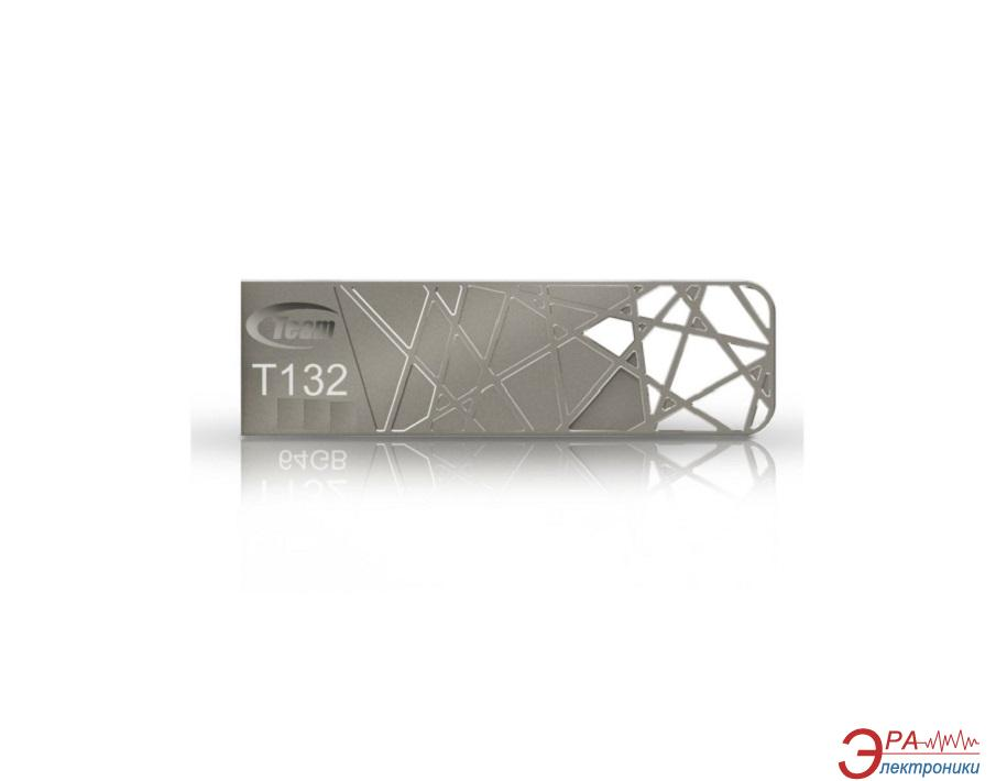 Флеш память USB 3.0 Team 32 Гб T132 Silver (TT13232GS01)