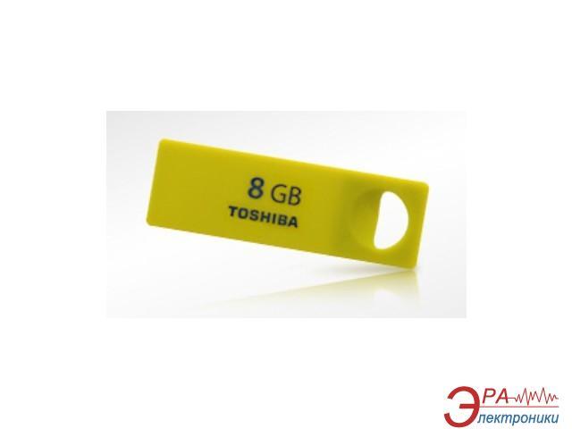 Флеш память USB 2.0 Toshiba 8 Гб Enshu Yellow (THNU08ENSYELL(BL5)