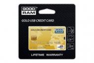 Флеш память USB 2.0 Goodram 32 Гб Gold Credit Card (PD32GH2GRCCPR9)
