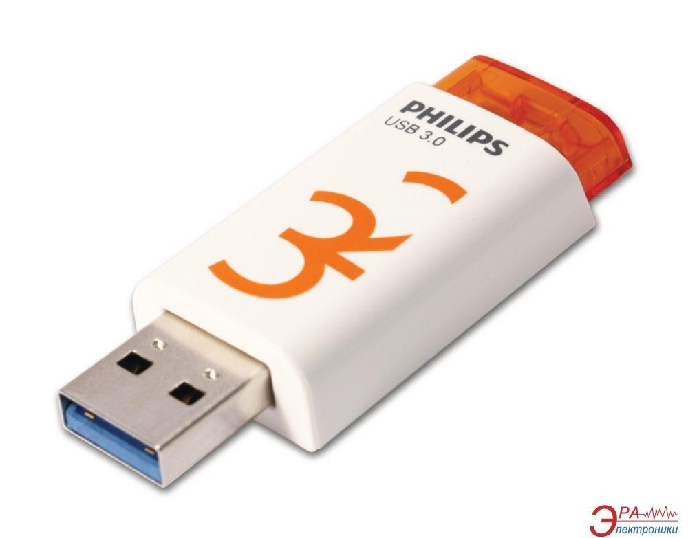 Флеш память USB 3.0 Philips 32 Гб Eject (FM32FD65B/97)