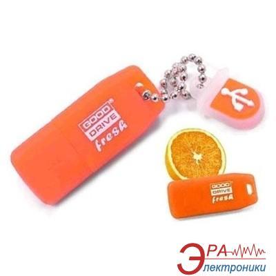 Флеш память USB 2.0 Goodram 8 Гб Fresh Orange (PD8GH2GRFOR9)