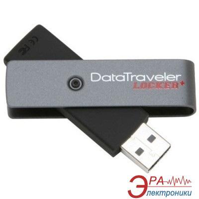 Флеш память USB 2.0 Kingston 4 Гб DataTraveler Locker+ (DTLPLUS/4GB)