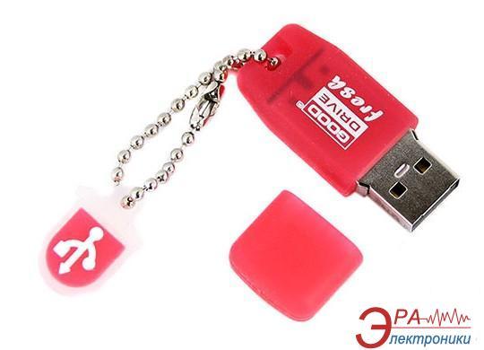 Флеш память USB 2.0 Goodram 8 Гб Fresh Strawberry (PD8GH2GRFSR9)