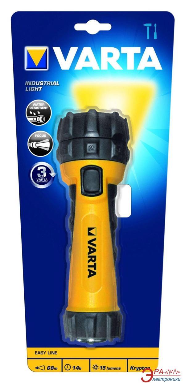 Фонарик Varta Industrial Light LED 2D (16604101401)