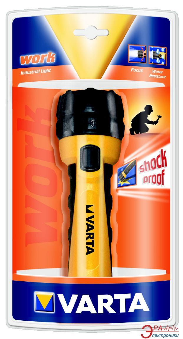 Фонарик Varta Industrial LIGHT 2AA (12603101401)