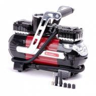 Компрессор автомобильный Intertool 12В. Два цилиндра 30 мм (AC-0003)