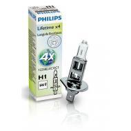 Лампа галогенная Philips H1 LongLife EcoVision 1 шт (12258LLECOC1)