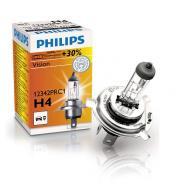 Лампа галогенная Philips H4 Vision, 3200K, 1шт/картон (12342PRC1)