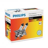 Лампа галогенная Philips H4 Vision, 3200K, 2шт/картон (12342PRC2)