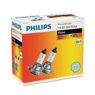 Лампа галогенная Philips H7 Vision, 3200K, 2шт/картон (12972PRC2)