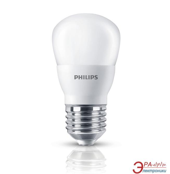 Светодиодная лампа Philips LEDBulb E27 4-40W 3000K 230V P45 (APR) (929001160907)