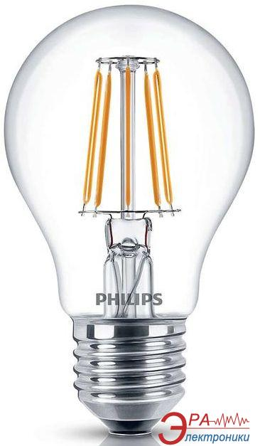 Светодиодная лампа Philips LED Fila ND E27 7.5-70W 2700K 230V A60 1CT APR (929001180507)