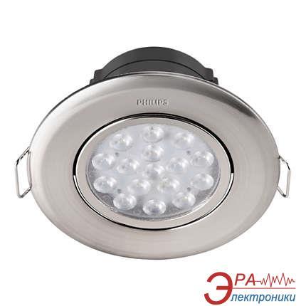 Светодиодный точечный светильник Philips 47041 LED 5W 4000K Nickel (915005089401)