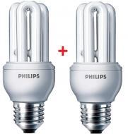 Энергосберегающая лампа Philips E27 11W 220-240V 6500K Genie (1+1) (8717943898626)