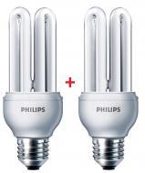 Энергосберегающая лампа Philips E27 18W 220-240V 6500K Genie (1+1) (8727900536041)