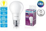 ������������ ����� Philips LEDBulb E27 10.5-85W 230V 3000K A60/PF (929001162307)