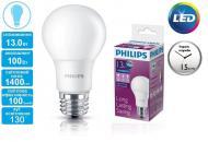 Светодиодная лампа Philips LEDBulb E27 13-100W 230V 6500K A60/PF (929001163907)