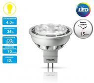 Светодиодная лампа Philips LED MR16 4-35W 2700K 12V 24D Essential (929001147307)