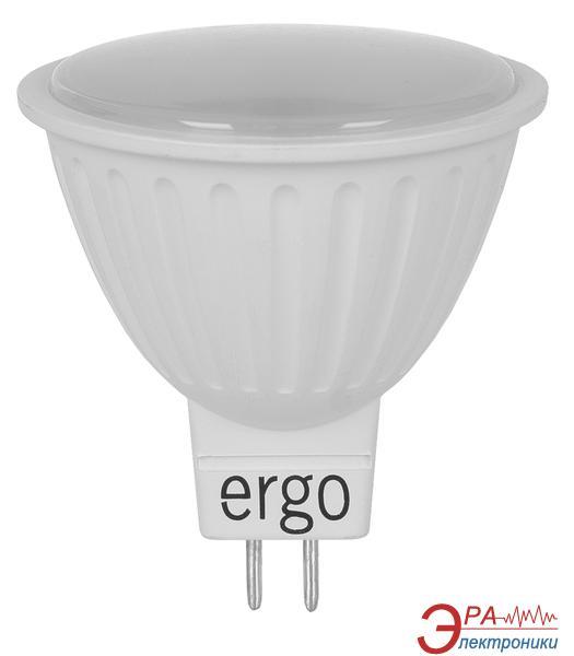 Светодиодная лампа Ergo Standard MR16 GU5.3 7W 220V 3000K (LSTGU5.37AWFN)