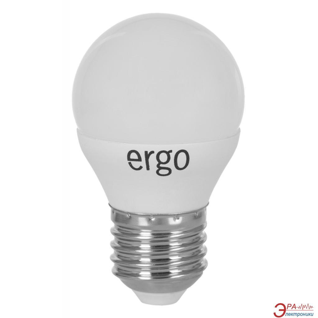 Светодиодная лампа Ergo Standard G45 Е27 5W 220V 4100K (LSTG45Е275ANFN)
