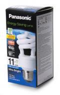 Энергосберегающая лампа Panasonic 11W (60W) 6500K E27 (EFD11E65HD3MR)
